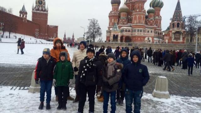 Пострадавшие от пожаров в Хайфе дети побывали на елке в Кремле